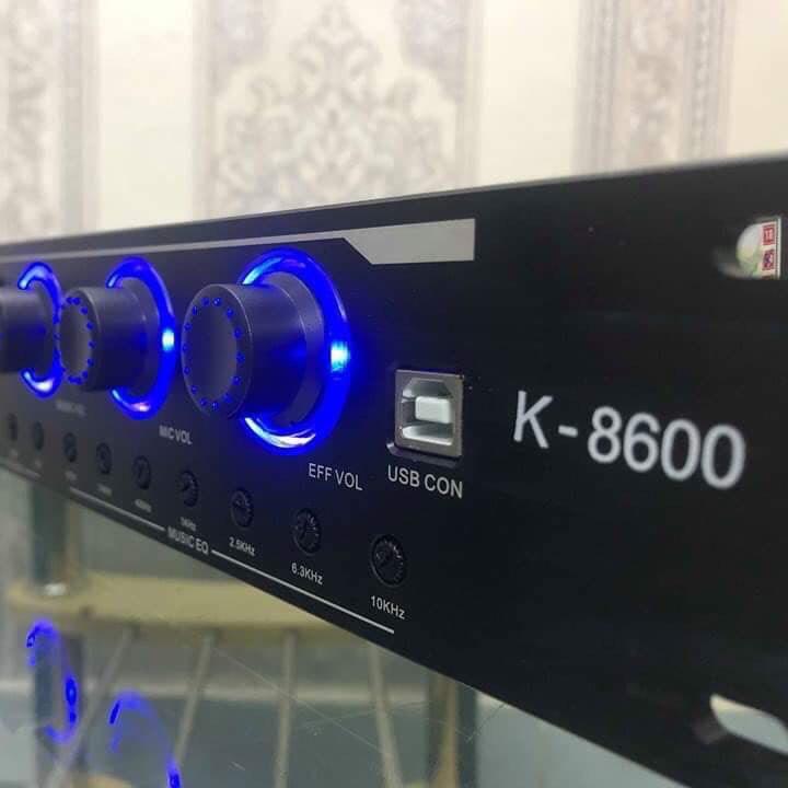Nâng tầm giọng hát với Mixer Karaoke K-8600